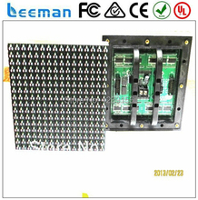 Leeman New technology full color DIP570 RGB 3IN1 outdoor P10 led modules made in Shenzhen China waterproof 160mm x 160mm