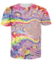 Rainbow Bubbles T-Shirt Women Men 3D t shirt  Tops Pullover Printed tees Fashion Custom tee tshirts