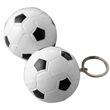2pcs cute Pens Soccer ball point pen shape with Keychain