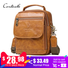 Genuine Leather Zipper Crossbody Bags Casual Style Men Shoulder Bags Phone Pocket Male Cow Leathe Flap Messenger Bags