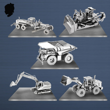 CAT Engineering Vehicle Series Puzzle 3D Metal Assembly Model Classic Collection EXCAVATOR sleeping beauty castle Ghost house
