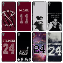 Teen Wolf Stilinski 24 Style Case Cover for Sony Ericsson Xperia X XZ XA XA1 M4 Aqua E4 E5 C4 C5 Z1 Z2 Z3 Z4 Z5