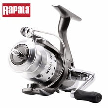 Original Rapala Brand MU6i 1000 2000 3000 4000 6BB+1RB 5.1:1 Spinning Fishing Reel Aluminum Spool with anti-reverse Gear(China)