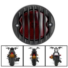 EE support  DC12V /20W retro motos led brake lights ATV scooter taillight refit  black motorcycle accessories XY01