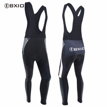 2017 New BXIO Brand Pro Team Cycling Pants Bike Jerseys Outdoor Sport Long 3D Gel Pad Mtb Bicycle Trousers Ropa Ciclismo 109-P(China)