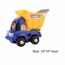 Hot! Kids Children Detachable Truck Toys Children DIY Disassembly Assembly Intellectual Development Car Toys Perfect Gifts New