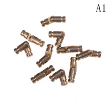 Gold Copper Brass Wine Jewelry Box Hidden Invisible Concealed Barrel Hinge Finely Machined Mechanisms 10Pcs(China)