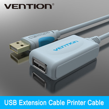 Vention New Arrival Extension Cable 5m 15FT USB 2.0 Type A Male to Type A Female Extension line(China)
