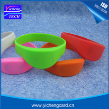 100pcs 13.56MHz RFID Silicone Wristband Bracelet NFC Ntag213 Ntag215 Smart Proximity Card Waterproof for Access Control
