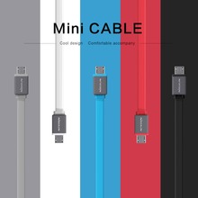 30cm New Original Nillkin Mini Micro USB Data Cable 5V 2.1A Hight Quality Universal USB Data Sync Charge Cable easy carrier