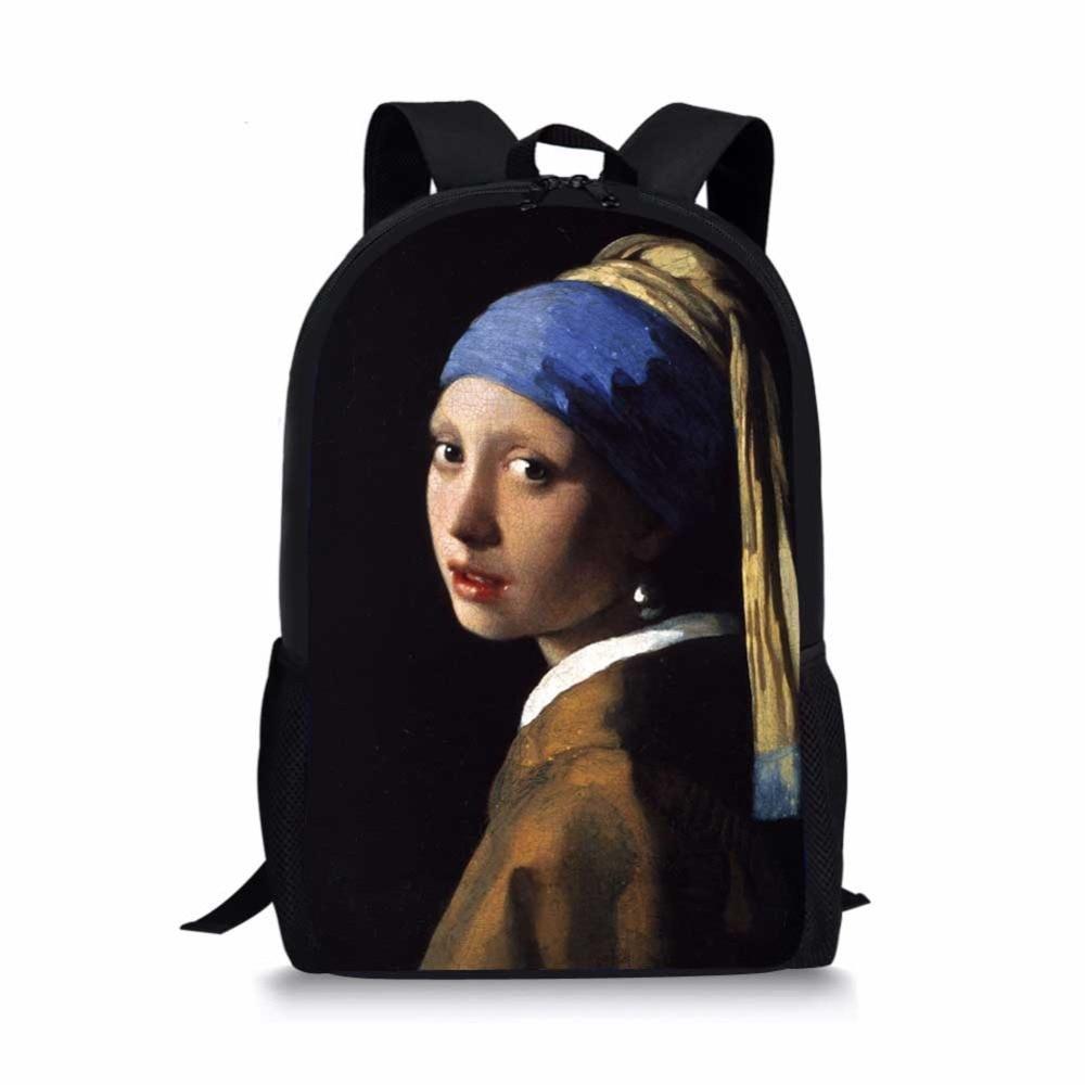 School Bag Travel Bag Backpack Shopping Bag Storage Bag For Men Women Girls Boys Personalized Pattern Graffiti Art