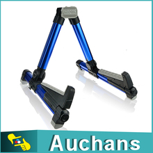 New Product AGS-08 Foldable Aluminium Tube Metal Guitar Stand Holder