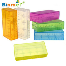 Best Price Hard Plastic 18650 CR123A 16340 Battery Case Holder Box Storage Color Optional Holder Storage Box Battery DEC3