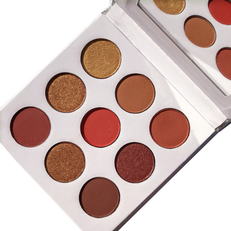 9Colors Eye Shadow Palette Natural Shimmer Matte Eyeshadow Powder Brand Professional Eyes Makeup Pallete Maquiagem 8