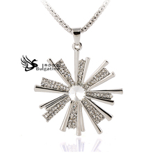 Rhodium Plated Necklaces High Quality Design Zinc Alloy Material,New & Best Quality Jewelry Supplier China,Hot(China)