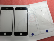 "500pcs/lot Replacement LCD Front Touch Screen Glass Outer Lens for iPhone 6S Plus 5.5 ""inch Black White Original A +"