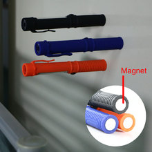 Portable 250LM COB Lamp Camping Work Pen Light Flashlight Torch With Magnetic Side Clip Bottom Magnetic Design