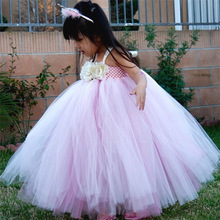 2017 new girl dress for wedding party pink tutu dress kids girls clothes kids princess costumes designer kids pendulum dress