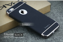 100% Original new iPaky 3 in 1 Phone Case For Apple iPhone 5/5S/SE Plating Matte Back Cover Coque Housing For iPhone 5s/se cases