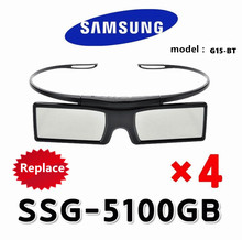 4piece/Lots New model  G15-BT replace SSG-5100GB SAMSUNG 3D TVs Active Shutter Glasses / series 3D TV, free ship