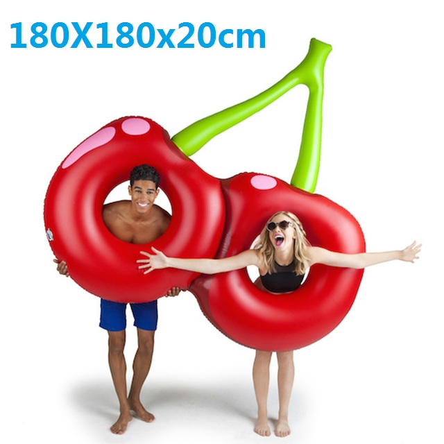 180cm-Giant-Inflatable-Cherry-Pool-Float-Red-Beach-Lounger-Air-Mattress-Adult-Swimming-Ring-Water-Summer.jpg_640x640