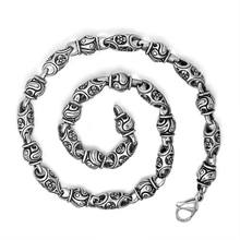 Polished Stainless Steel Chain Necklace Titanium Chain Male Jewelry Accessories Male Jewelry