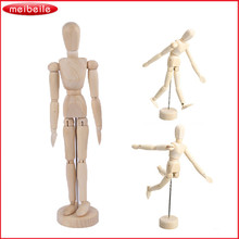 5 / 8 / 12 inch joints wood Wooden mannequin toy / wooden puppet / wooden manikin Home Decoration Model,Painting sketch