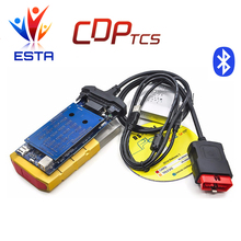 Gold color TCS CDP DS 2015.3 with keygen or 2014.2 super cdp pro tcs Diagnostic Tool OBD OBD2 Scanner Tool for Cars/TrucK
