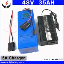 1800W 48V 35AH eBike Battery 48V 35AH Lithium ion Battery 48V For 8Fun Bafang Electric Bike Motor With 50A BMS 5A Charger