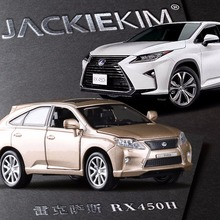 New 1:32 LEXUS RX450 Alloy Diecast Car Model Pull Back Toy Car model Electronic Car classical Car For Kids Toys free shipping