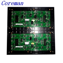 Coreman P3 RGB pixel HD display Items P3 HD full color LED video wall ,192*192mm LED module, 3D led cube led module 64*64 p3