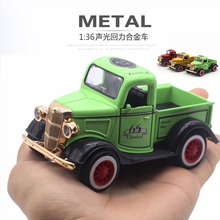 1:36 The Cute Ford Truck Car Model Metal Alloy Diecasts & Toy Vehicles Model Car For Collection Toy Car