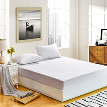 Size 90X200CM Terry Waterproof Mattress Protector Cover For Bed Wetting Dust Mite Hypoallergenic Noiseless(China)