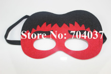 (20 pieces/lot) New birthday party supplies Kids costume felt masks Fancy Red Hulk mask