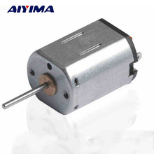 AIYIMA 2pcs N20 Long Axis DC Motor 6V 15000RPM/Min Toy Motors Accessories Model Making Parts DIY Remote Control Car Moteur