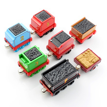 1pcs Children thomas and friends trackmaster trains tender railway carriages car magnetic Engine Diecast kids metal model toys