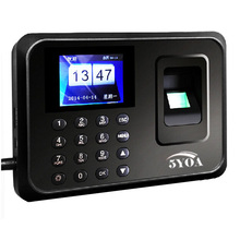 5YOA 5YA01U Biometric Fingerprint Time Attendance Clock Recorder Employee Electronic English Portuguese Voice Reader Machine