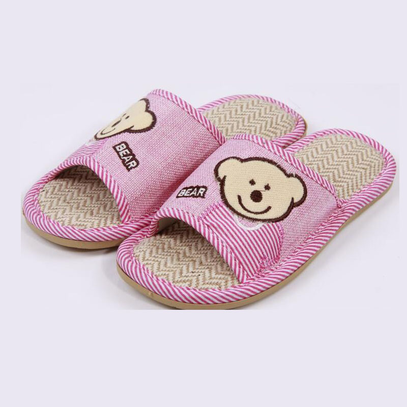 New Flax household slippers Coral Velvet Soft Warm Indoor Slippers Cotton Home slippers EVA couples non-slip floor slippers<br><br>Aliexpress