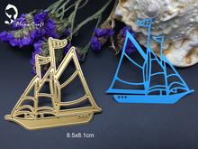 Metal cutting dies sailing boat vessel Yachting Scrapbook card album paper craft home decoration embossing stencil cutter