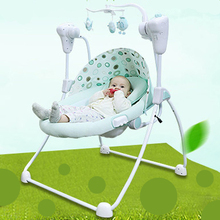 Electric baby crib rocking chair cradle baby swing shaking bed  baby bouncer