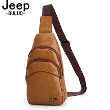 Buy Jeep Famous Brand Theftproof Magnetic Button Open Leather Mens Chest Bags Fashion Travel Crossbody Bag Man Messenger Bag JP6981 for $13.52 in AliExpress store