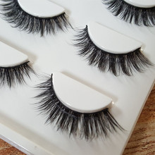 HBZGTLAD Sexy 100% Handmade 3D mink hair Beauty Thick Long False Mink Eyelashes Fake Eye Lashes Eyelash High Quality