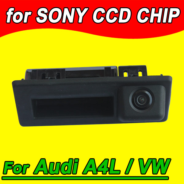 CCD car handle truck camera for Audi A4L VW Touran Variant Cayenne waterproof parking reverse back up(China (Mainland))