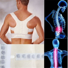 Corset Back Posture Corrector Brace Back Shoulder Support Posture Correction Belt for Men Women Students Posture Corrector(China)