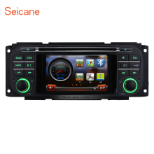 Seicane Car Radio Bluetooth CD DVD Player GPS Navigation for 2002-2006 Dodge RAM 1500 2500 3500 Pickup Truck with USB Auto A/V(China)