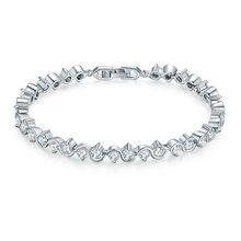 Zircon Bracelet Womens Crystal Japanese And Korean Fashion Bridal Jewelry Birthday GiftChina