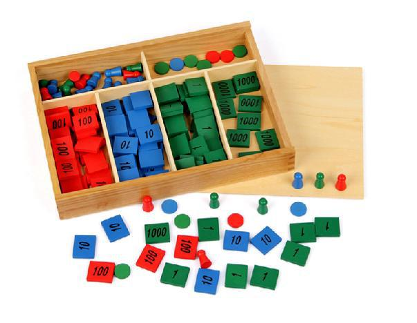 Baby Educational Toys Montessori Stamps Game Wooden Toys Child Educational Math Toy Stamps Game Early Development Birthday Gift<br>