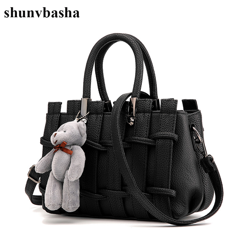 Fashion Leather Handbags Women Famous Brand Shoulder Crossbody Bag Ladies Soft Women Messenger Bags High Quality Tote Bag Female<br>