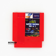 Top quality 8 bit Game Cartridge 150 in 1 with game Rockman 1 2 3 4 5 6 NINJA TURTLES Contra Kirby's Adventure (Save) red shell(China)