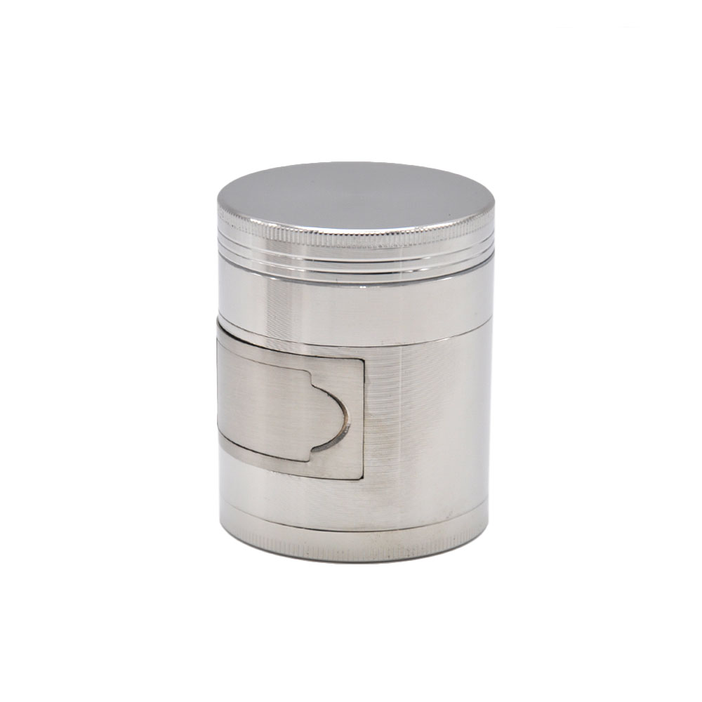 HORNET Multi Functional ZINC Alloy Herb Grinder 56 MM/ 63 MM 4 Layers Tobacco Grinder Grinder Spice Chromium Crusher 11